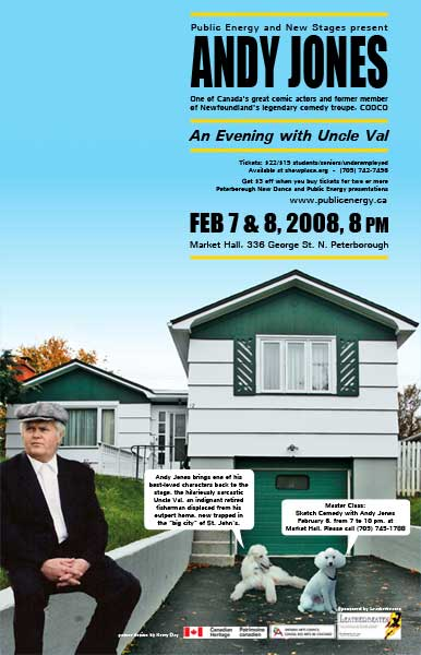 'An Evening with Uncle Val' poster