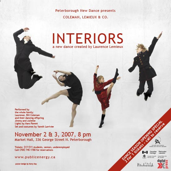 'Interiors' poster