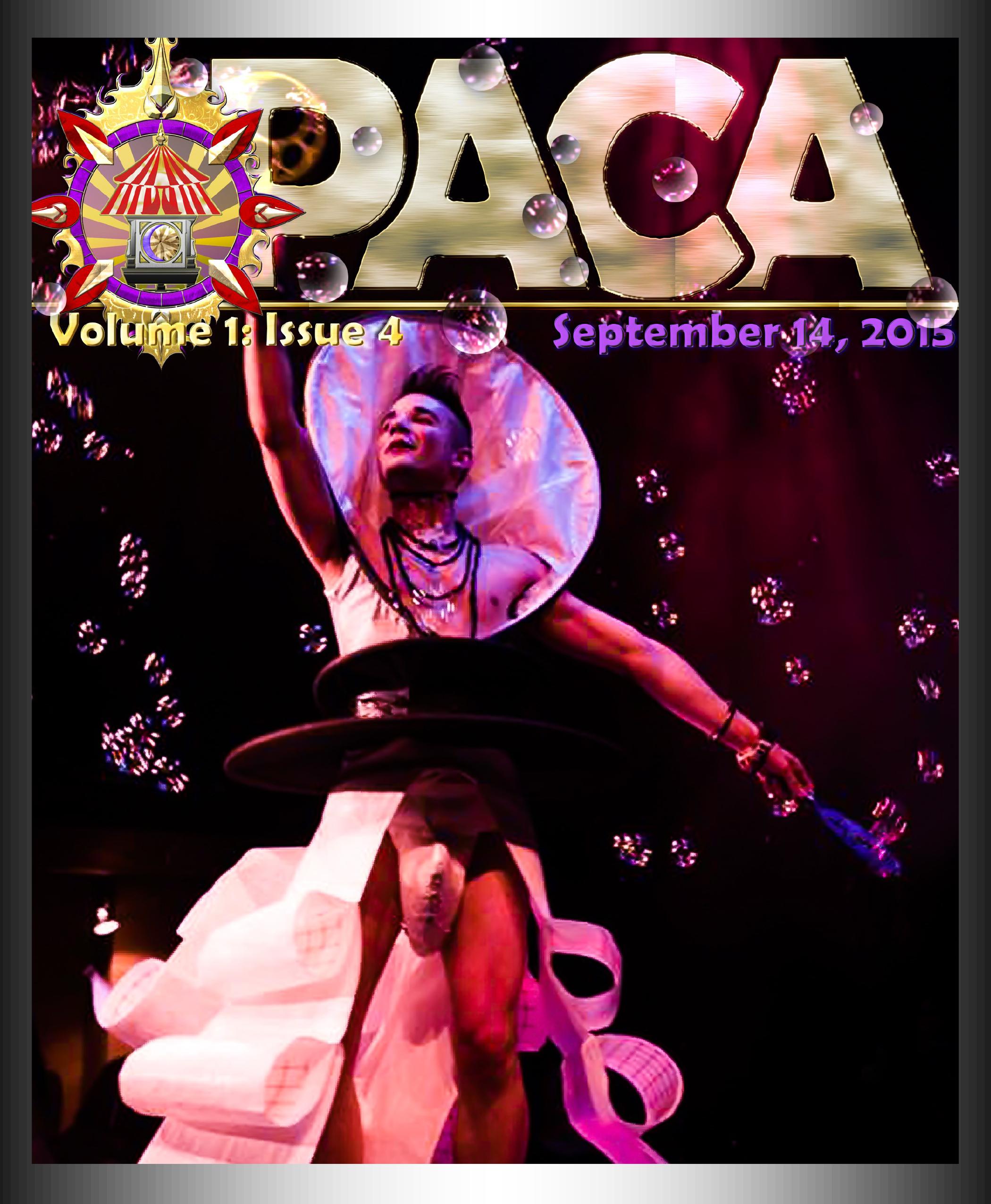 PACA Newsletter Volume 1 Issue 4 1