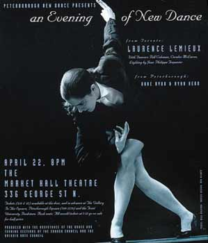 Laurence Lemieux- An Evening of New Dance