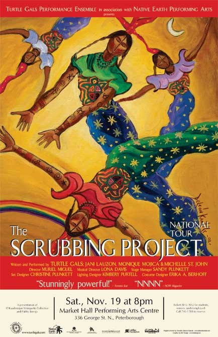 The Turtle Gals - The Scrubbing Project