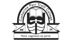 Cathering Parr Traill College logo