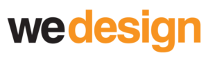 We Design logo