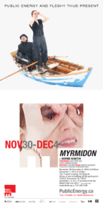 Poster of Myrmidon with Kate Story and Curtis Dreidger