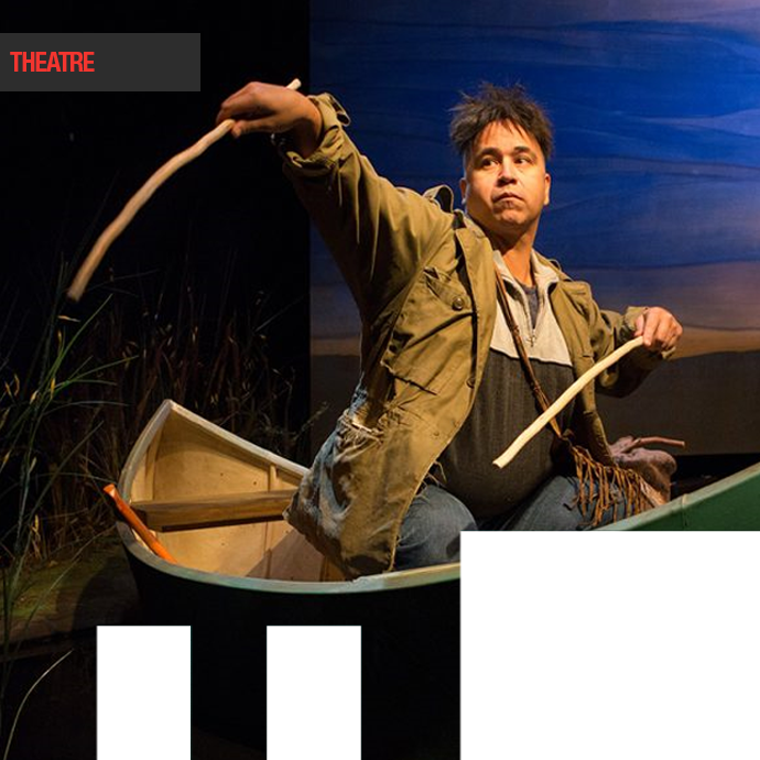 Tarragon Theatre <BR><EM>Cottagers and Indians</em><BR>BY DREW HAYDEN TAYLOR