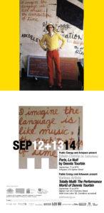 poster for Paris La Nuit with photo of Dennis Tourbin