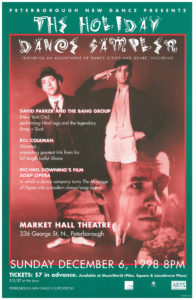 "Poster marketing: ""The Holiday Dance Sampels"""