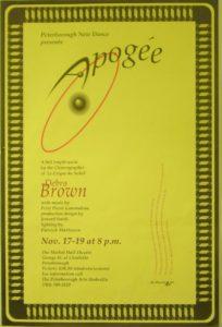 A full length work by the choreographer of Circe de Soleil, Debra Brown