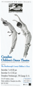 Poster for Canadian Children's Dance Theatre