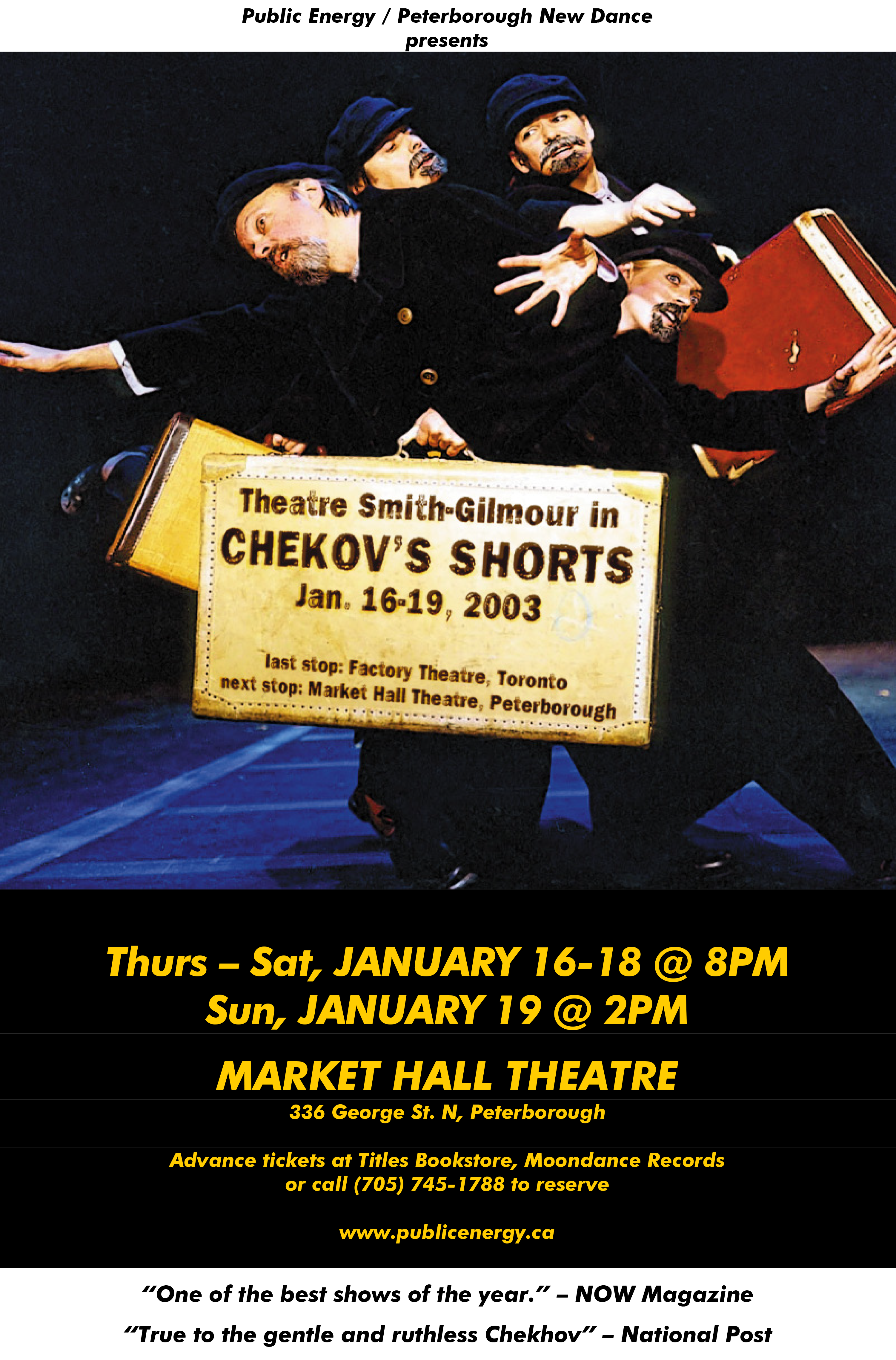 Poster for Checkov's Shorts