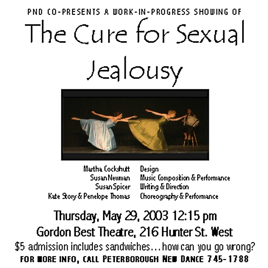 Poster for The Cure For Sexual Jealousy