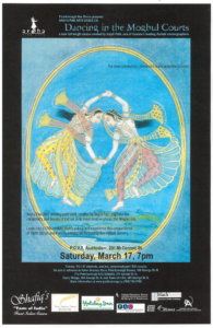 Poster for Dancing In The Moghul Courts