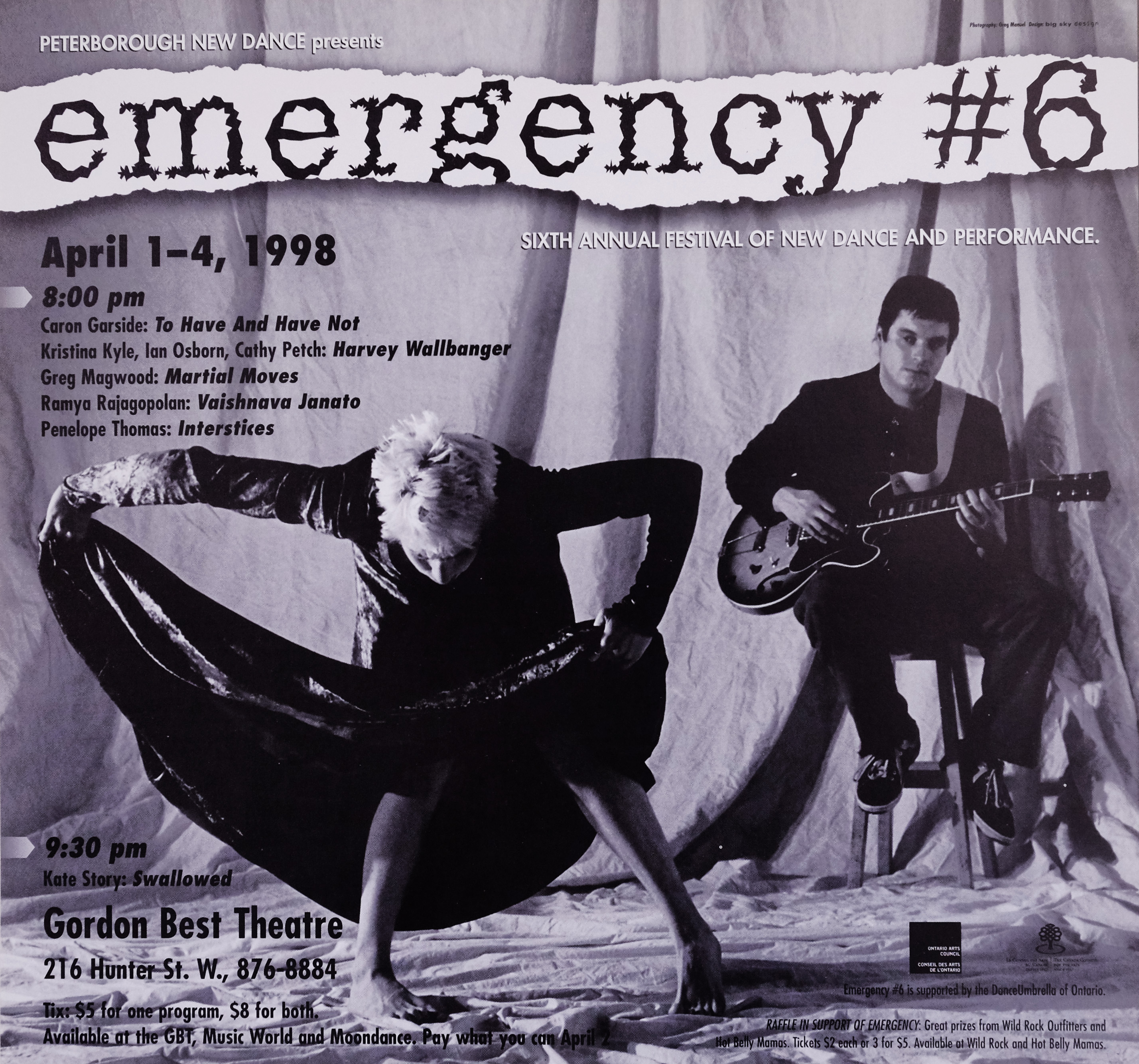 Emergency #6 Poster for Emergency 6 showing Kate Story and Patrick Walsh in the photo.