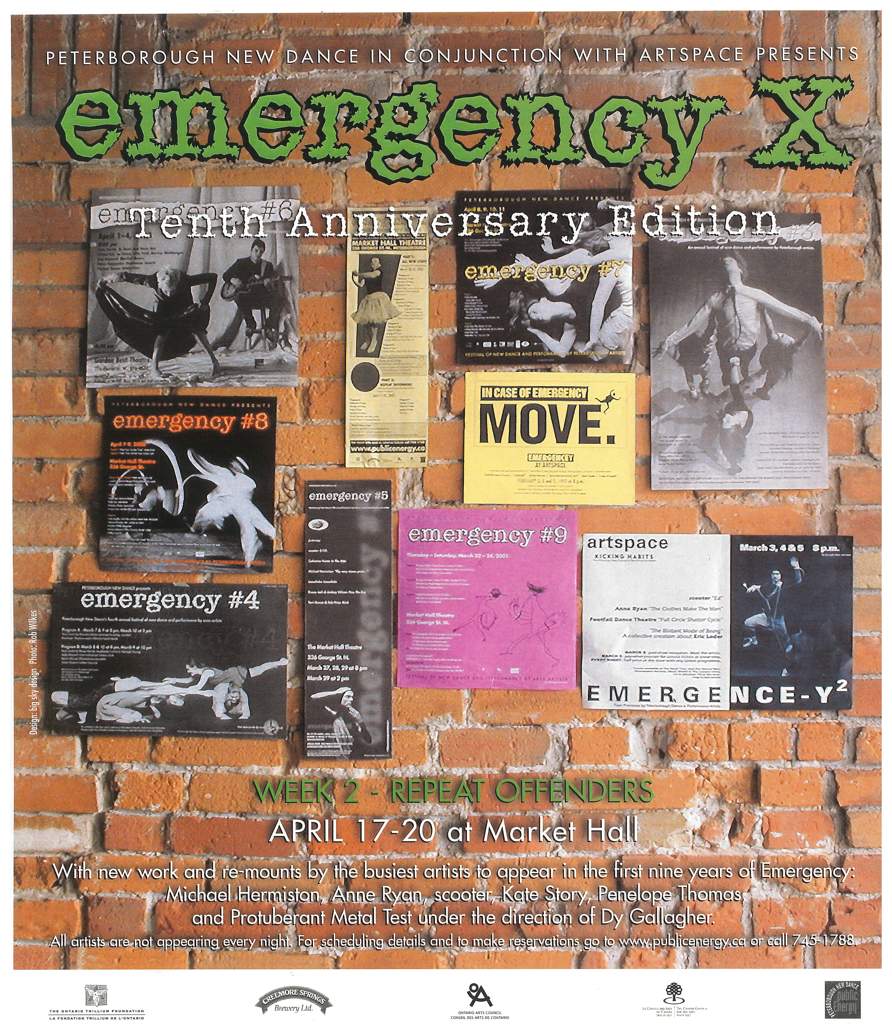 Poster for Emergency X