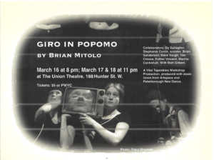 Poster for Giro in Popomo