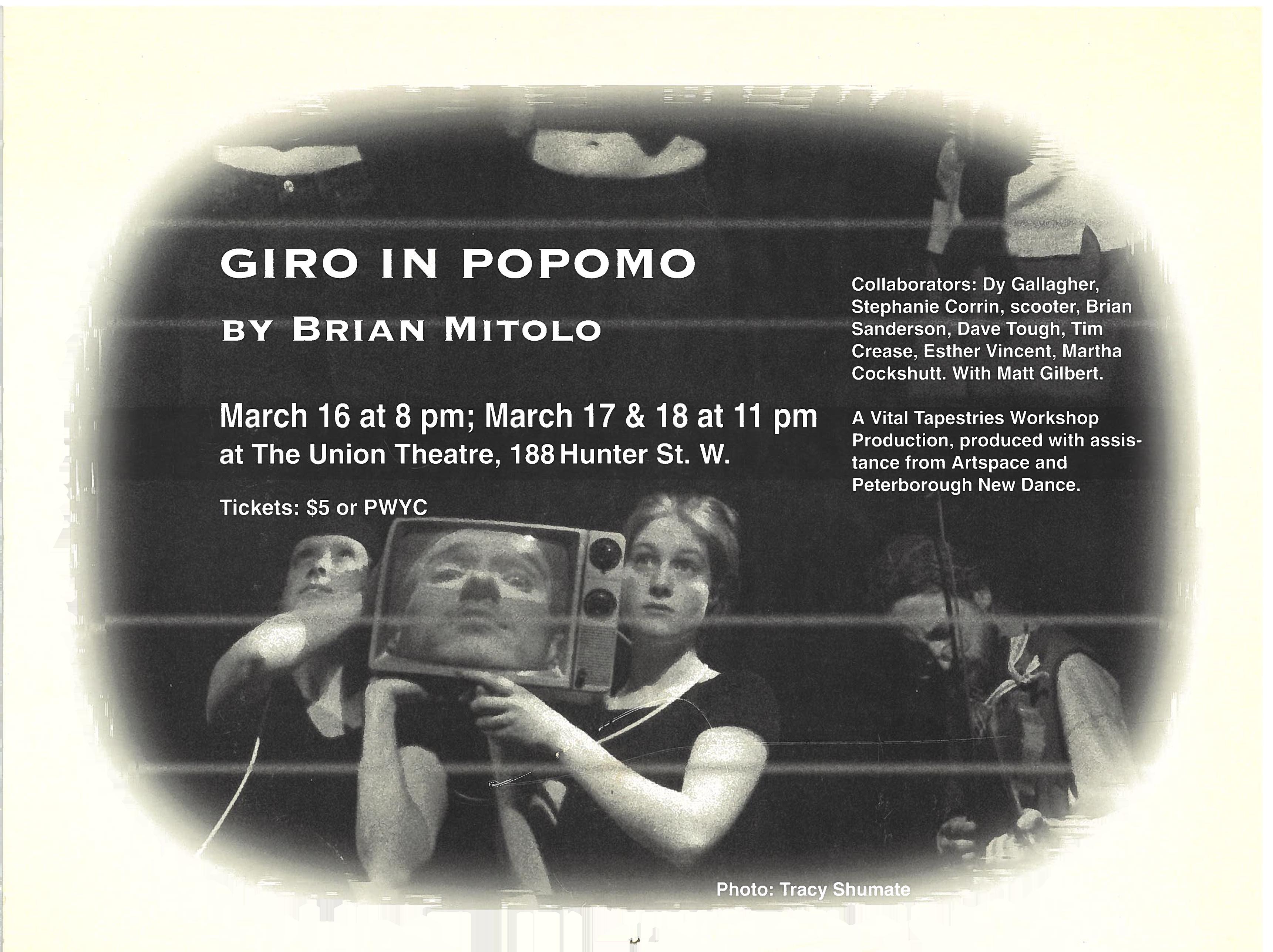 Giro In Popomo Poster for Giro in Popomo in the photo.