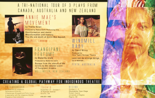 Honouring Theatre: an International Indigenous Theatre Festival