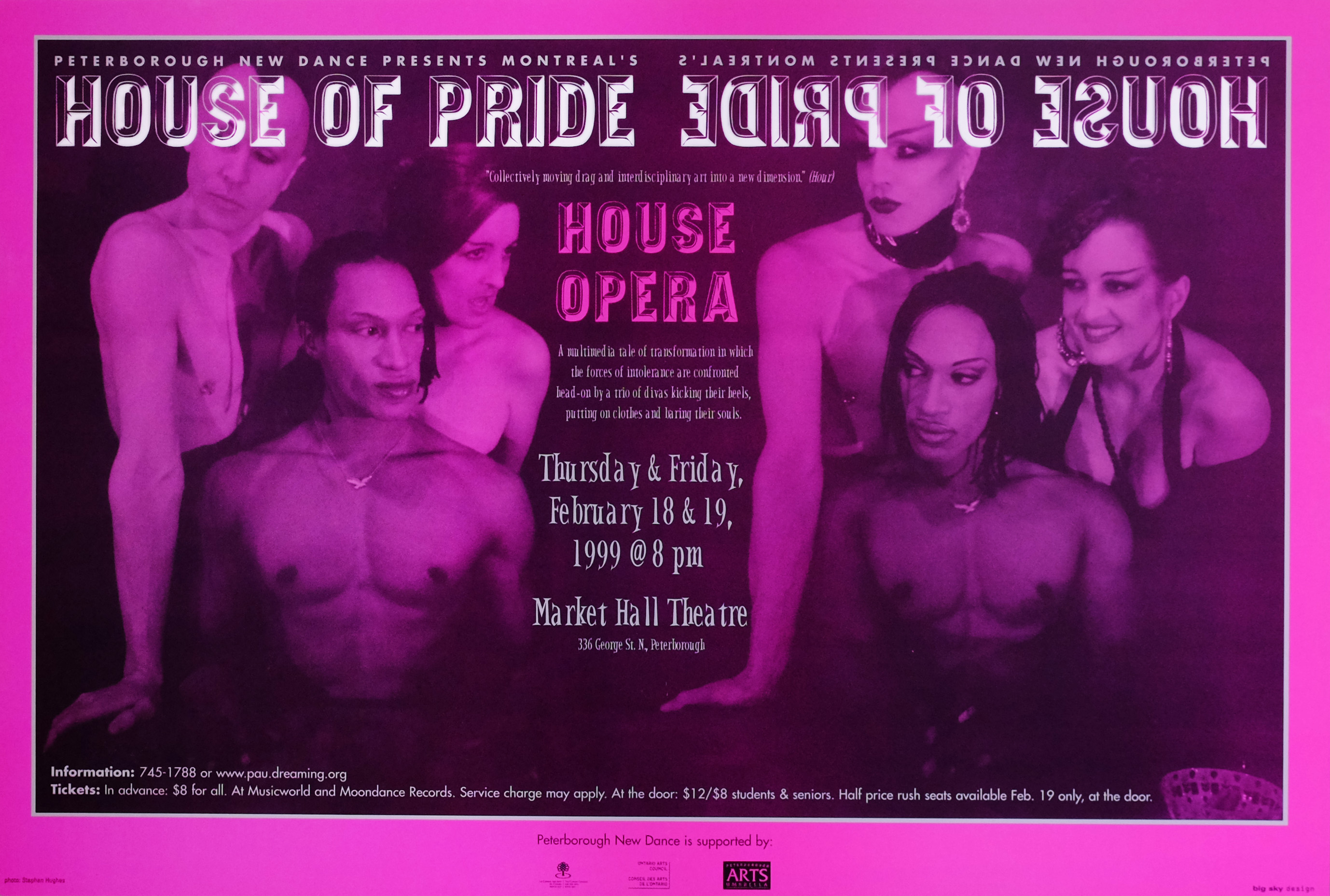 House of Pride – House Opera  in the photo.