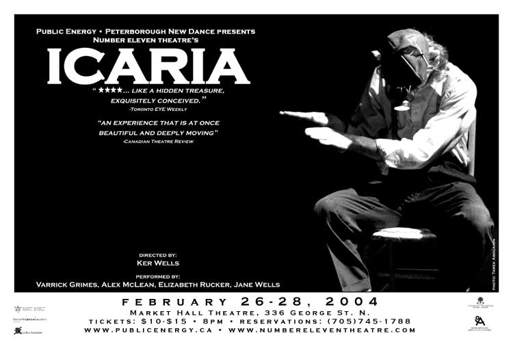 Number Eleven Theatre: Icaria  in the photo.