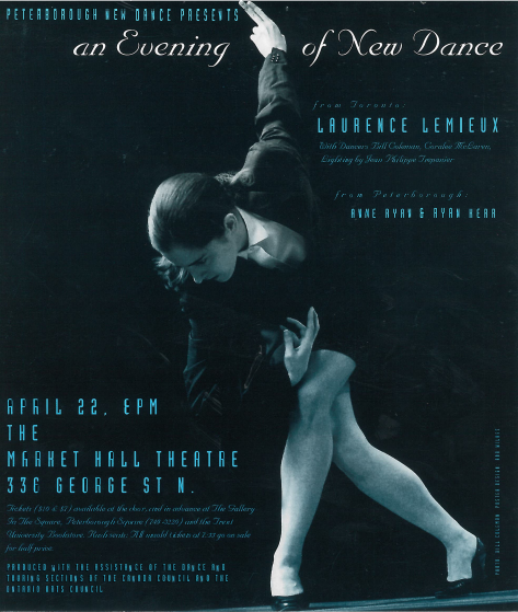 Laurence Lemieux – An Evening of New Dance  in the photo.