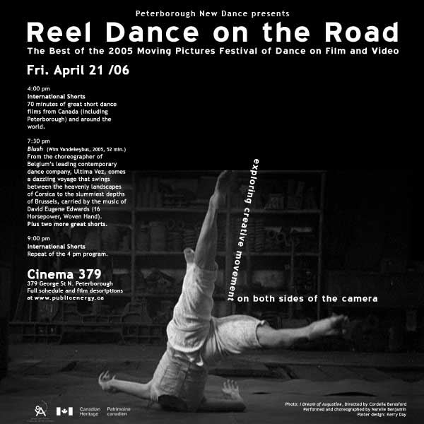 Moving Pictures 2005 – Reel Dance on the Road