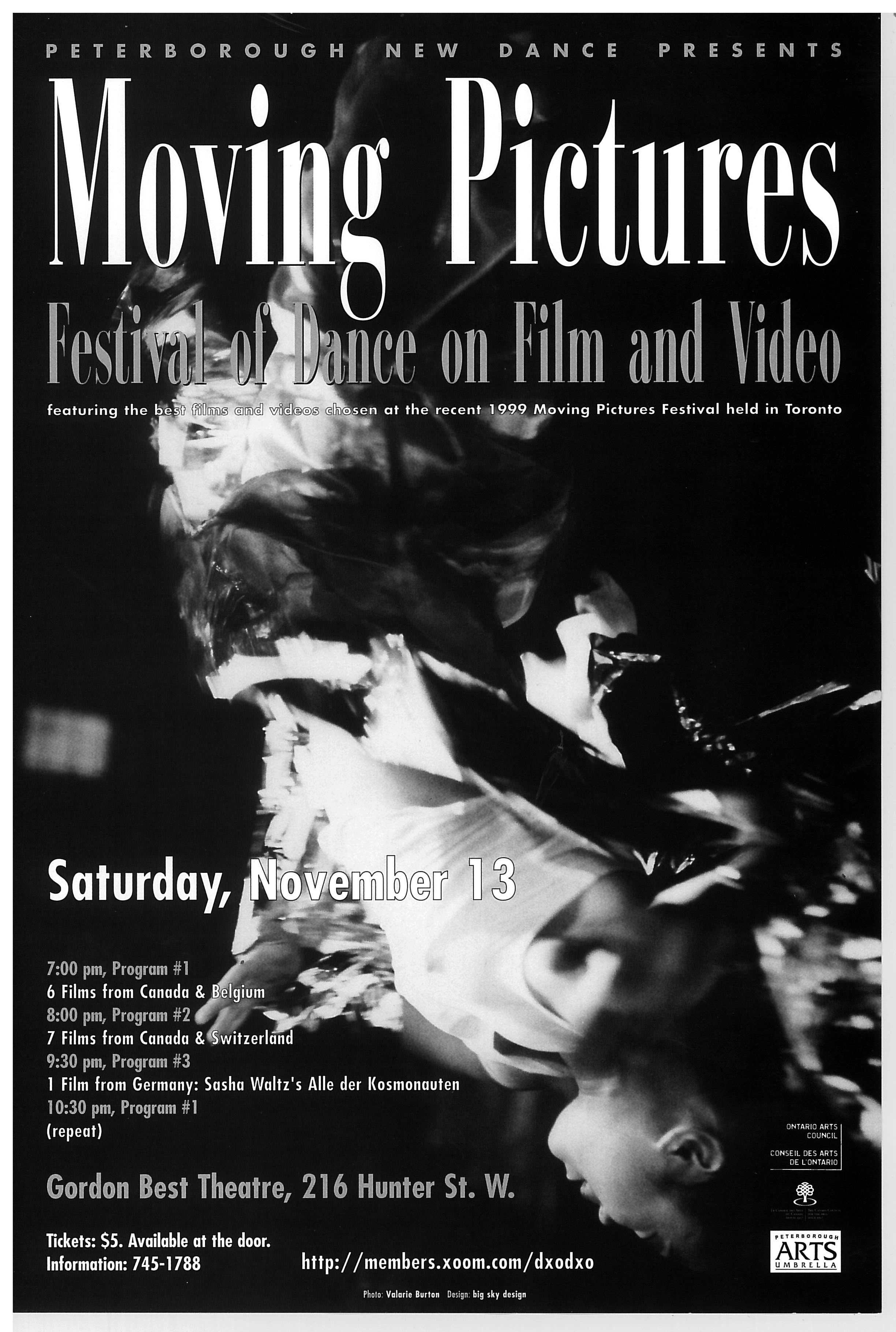 Poster for Moving Pictures