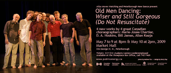Old Men Dancing: Wiser and Still Gorgeous (Do Not Resuscitate)  in the photo.