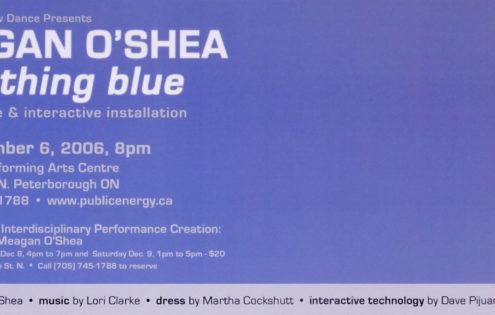 Meagan O'Shea – something blue