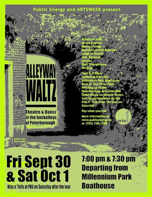 Alleyway Waltz  in the photo.