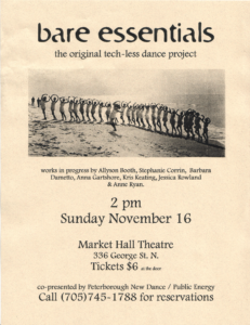 Poster for Bare Essentials 2003
