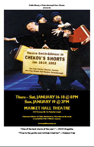 Theatre Smith-Gilmour: Chekhov's Shorts