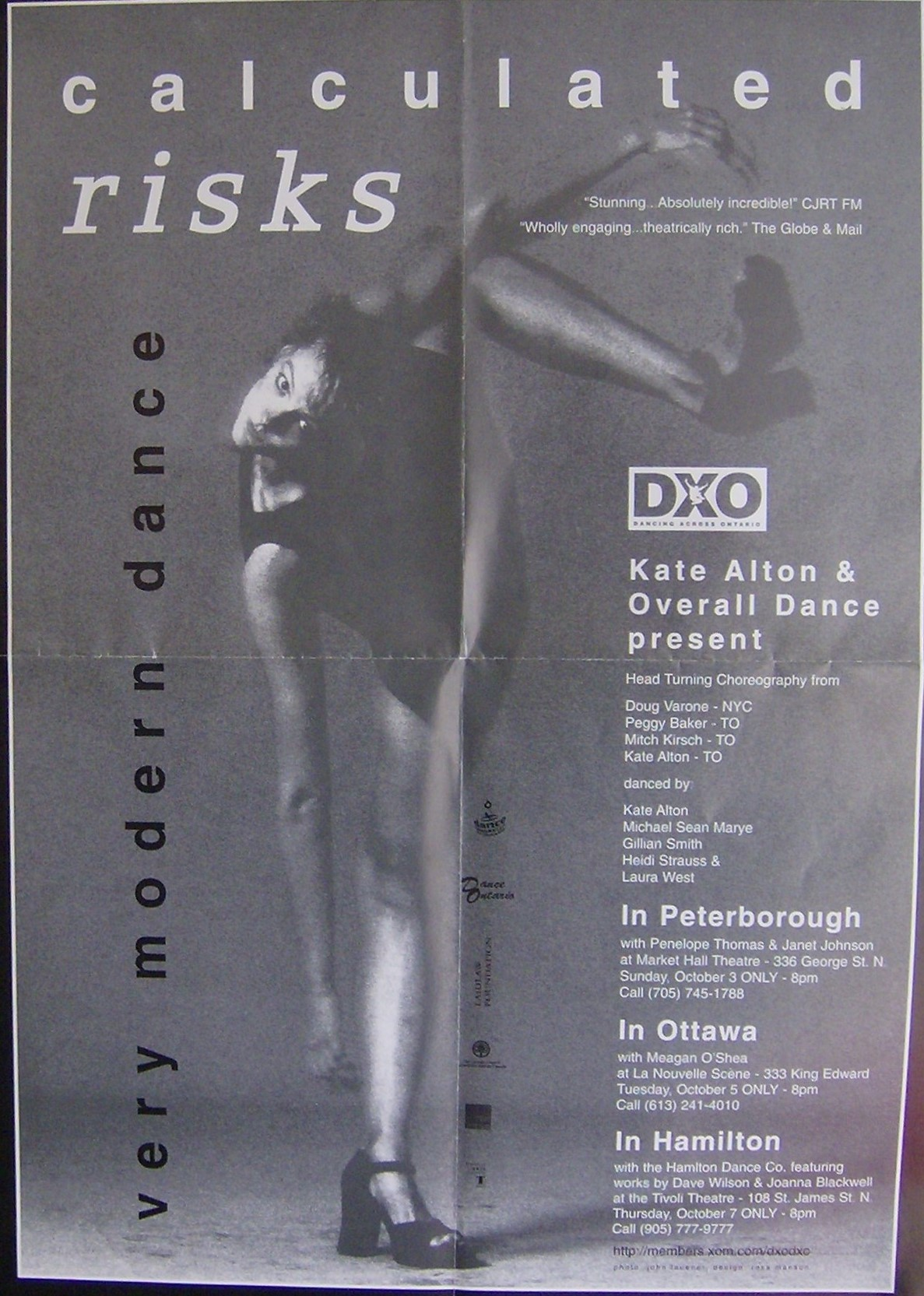 Overall Dance – Calculated Risks  in the photo.