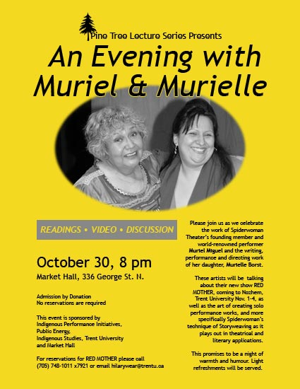 An Evening with Muriel & Murielle  in the photo.
