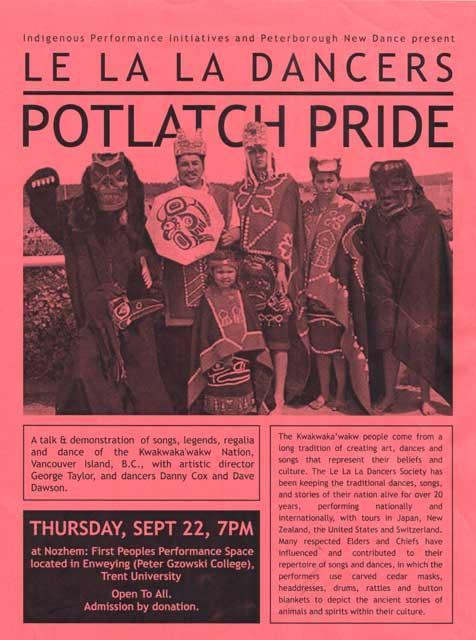 Potlatch Pride  in the photo.