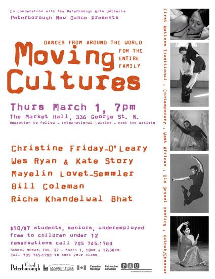 Moving Cultures Dances
