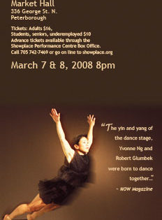 Yvonne Ng's tiger princess dance projects – Fading Shadows-Returning Echoes