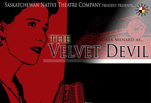The Velvet Devil  in the photo.