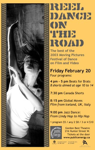 Moving Pictures: Reel Dance on the Road  in the photo.