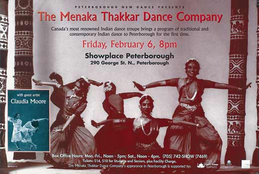 Menaka Thakkar Dance Company  in the photo.