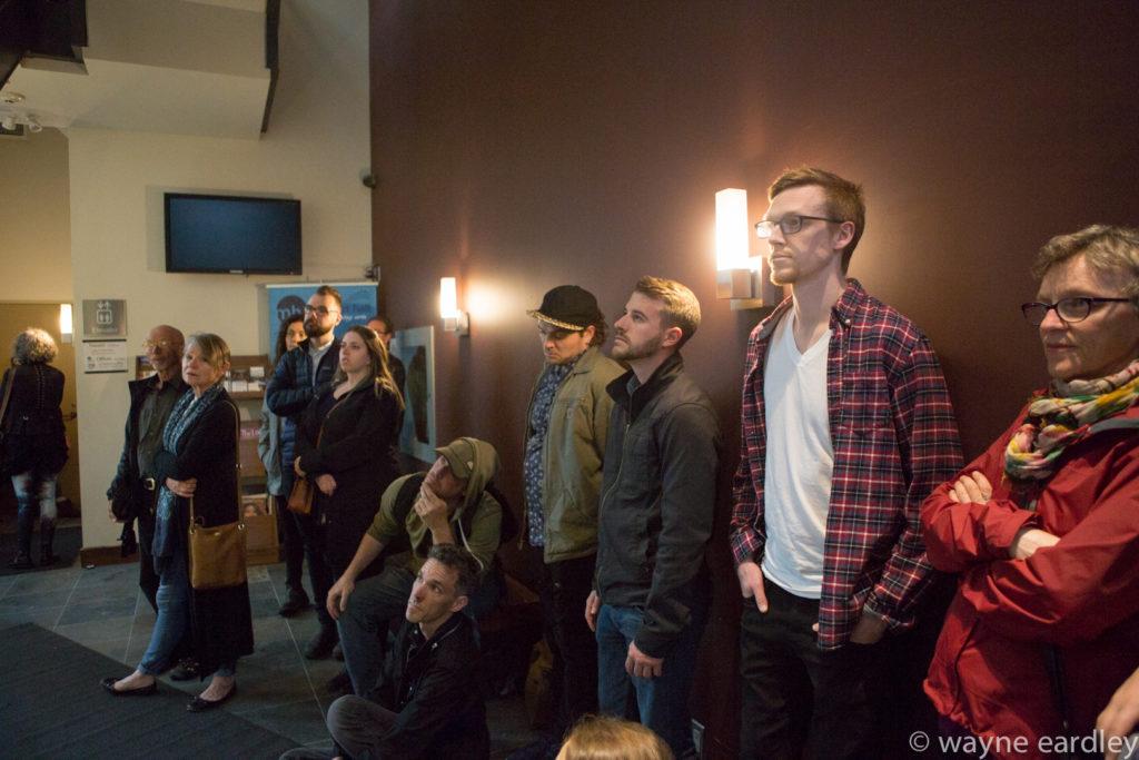 Audience watching Divergent Dances (Peterborough) performance.