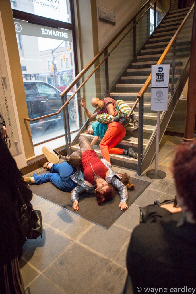 Anandam Dance Theatre performing Divergent Dances (Peterborough).