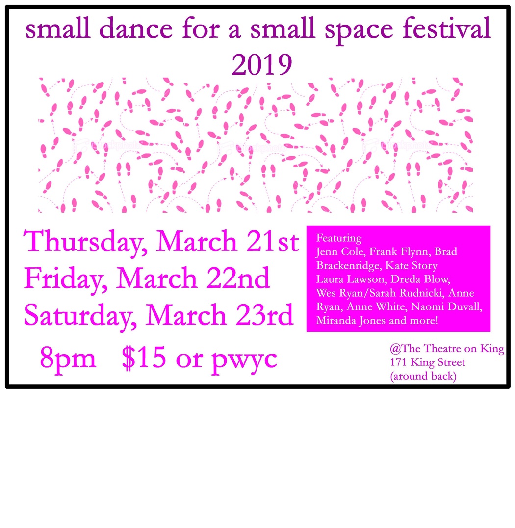 small dance for a small space festival 2019