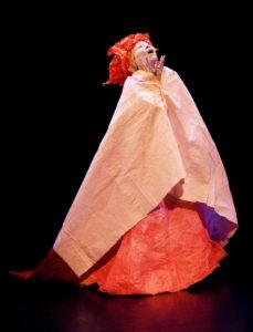 Denise Fujiwara performing.