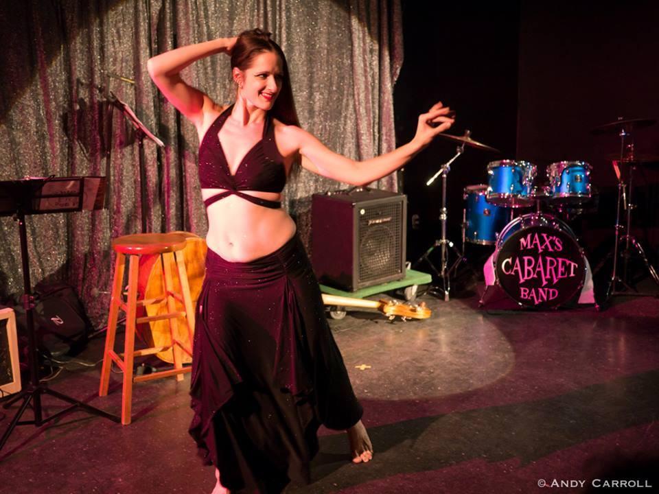 Photo of Sarah Rudnicki dancing
