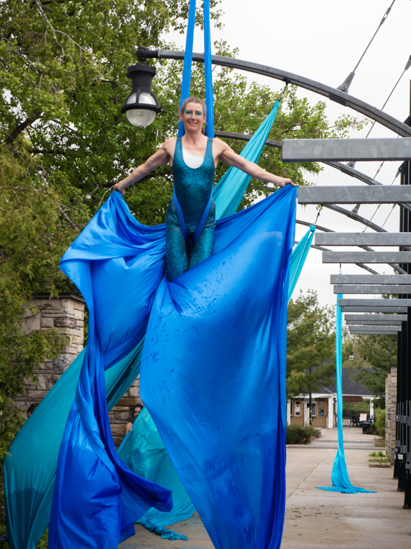 Photo of Jennifer Elchuk (Opal) performing
