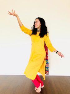 Mithila Ballal dances