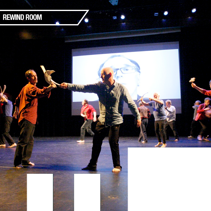 Legacy – Old Men Dancing Men over 50  performing onstage. in the photo.