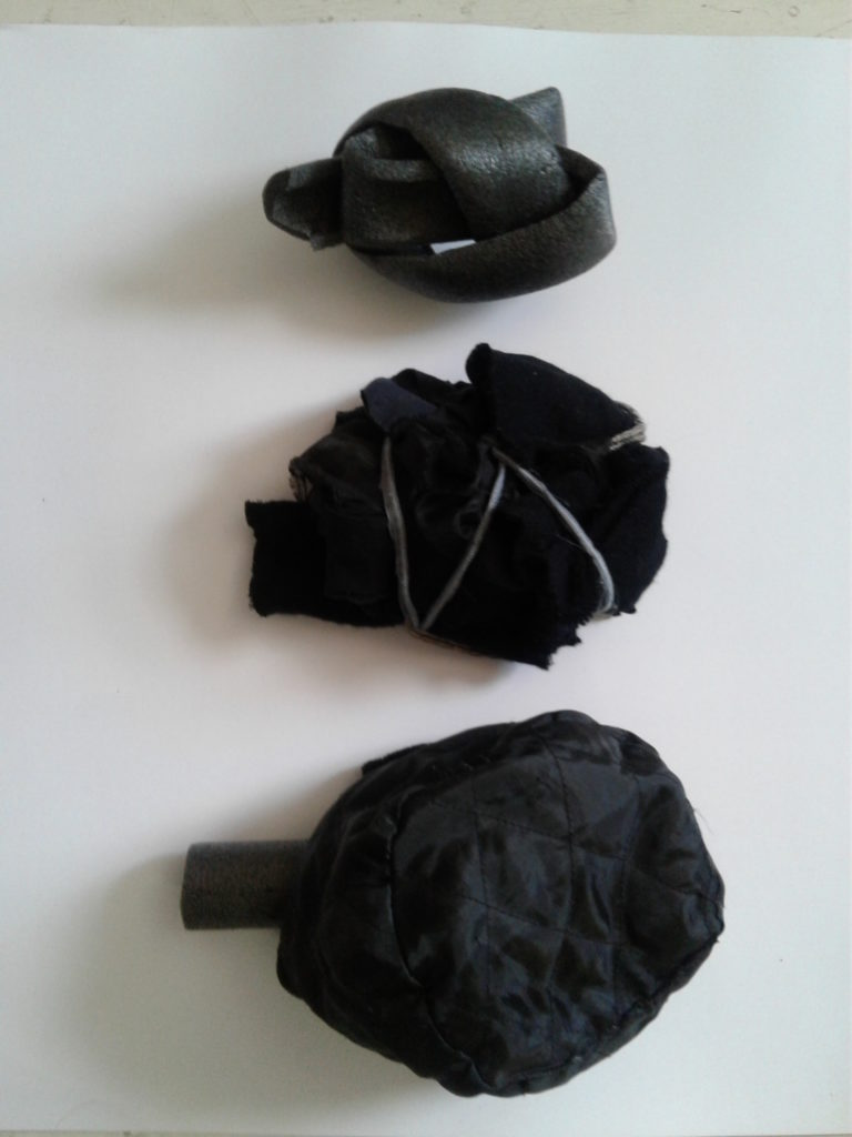 Cloth motors made by Ann Jaeger.