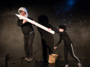 photo of Brad Brackenrdige performing Sputnik's Shadow