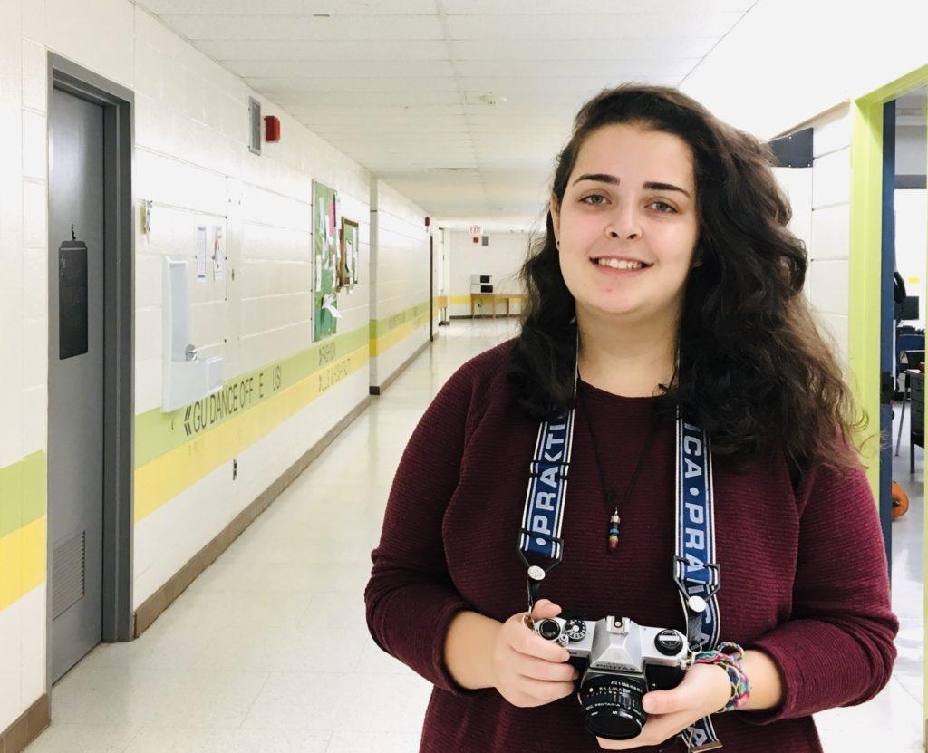photo of Sahed Khaito holding a camera